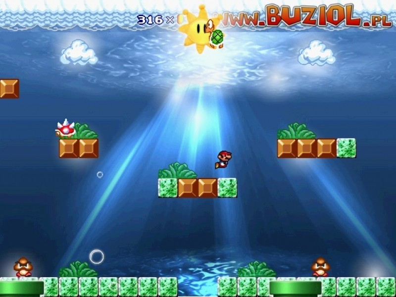 Pantallazo Super Mario Underwater