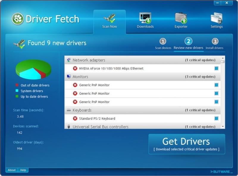 Foto Driver Fetch