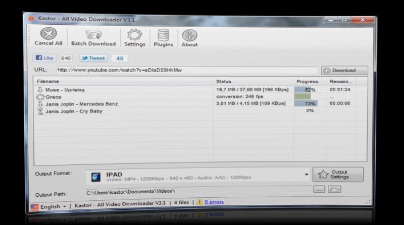 Pantallazo All Video Downloader