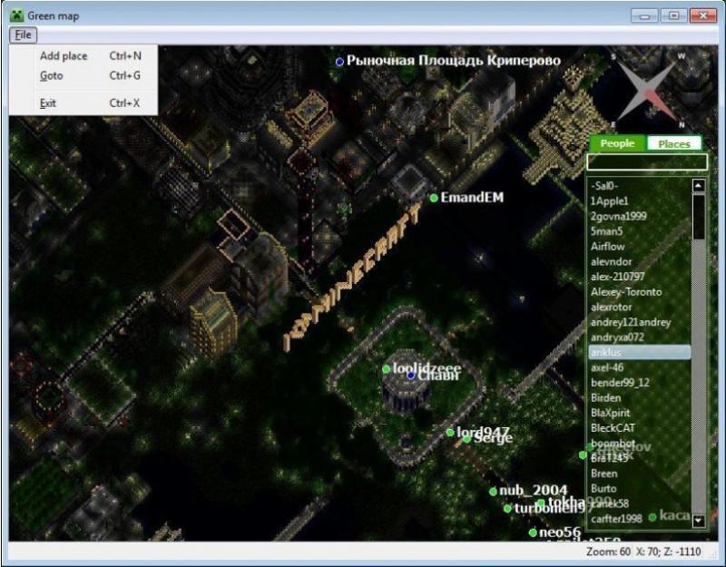 Pantallazo Green Map