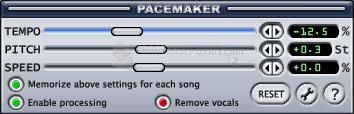 Pantallazo PaceMaker