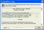 Pantallazo Nics XviD MPEG-4 Codec