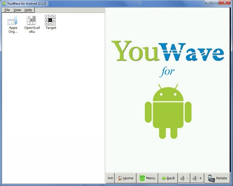 Pantallazo Youwave for Android
