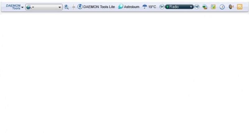 Foto Daemon Tools Toolbar