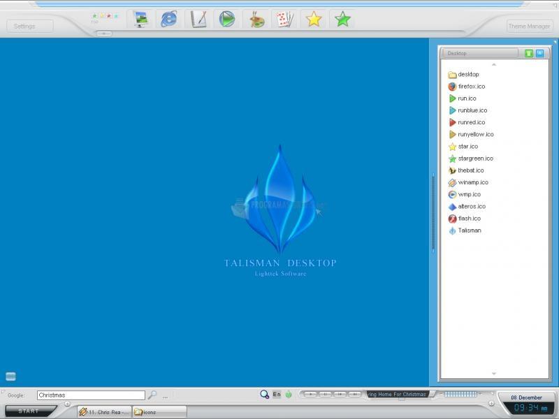 Pantallazo Talisman Desktop