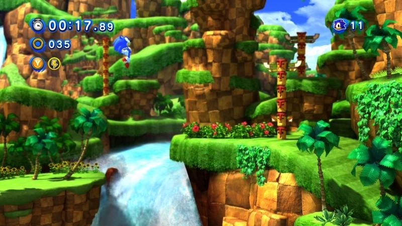 Pantallazo Sonic Generations
