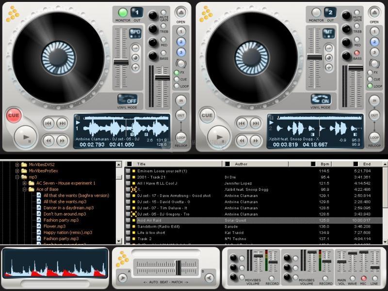Pantallazo MixVibes 3DEX