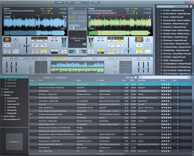 Pantallazo Magix Digital DJ
