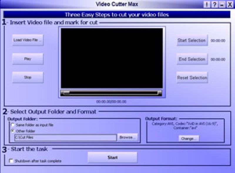 Pantallazo Video Cutter Max