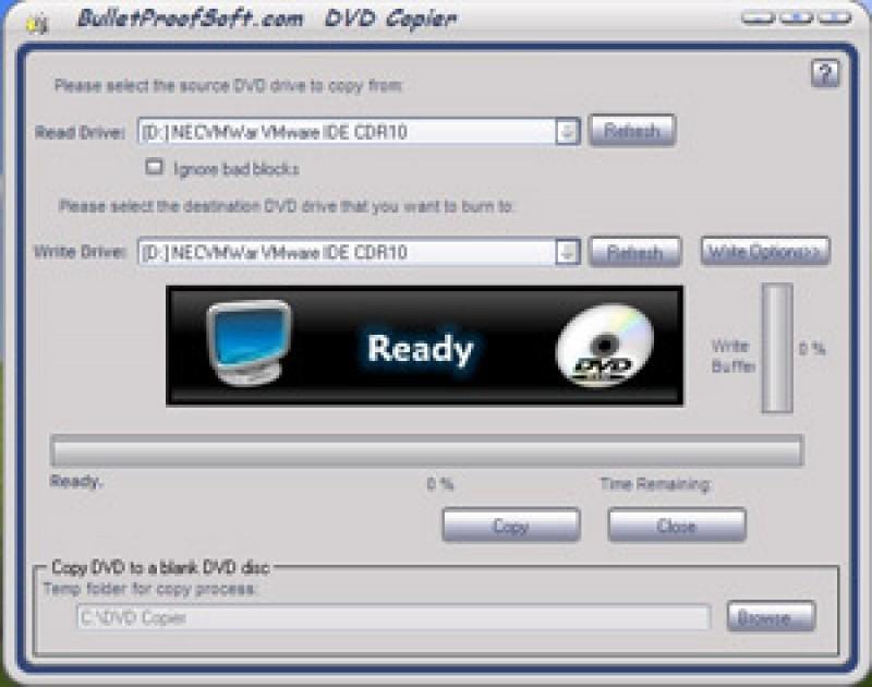 Pantallazo DVD Copier
