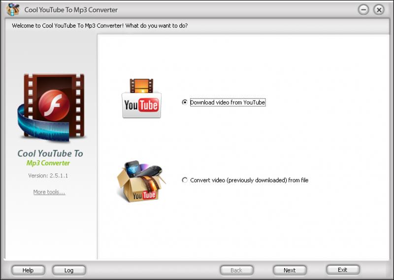 Pantallazo Cool YouTube to MP3 Converter