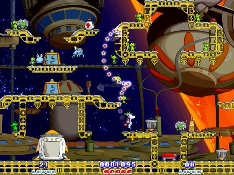Pantallazo Milky Bear: Rescue Rocket