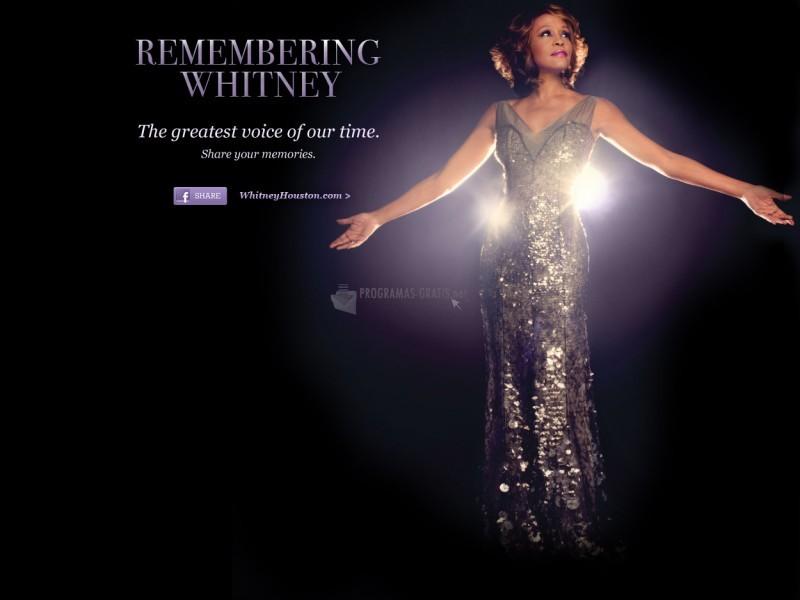 Pantallazo Whitney Houston - Remembering Whitney