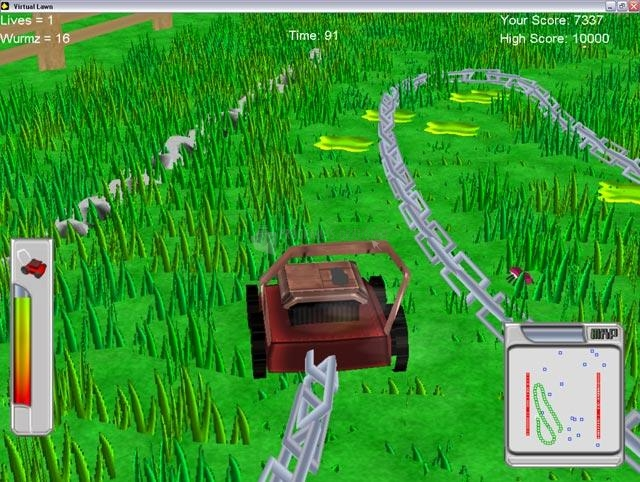 Pantallazo Virtual Lawn Mower