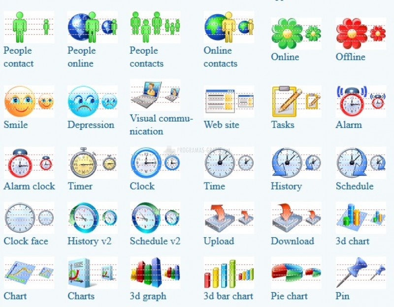 Pantallazo Windows 8 Toolbar Icons