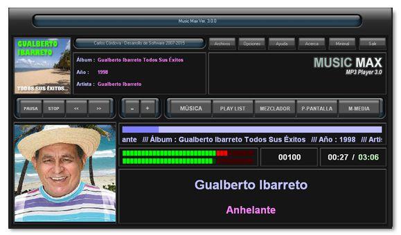 Pantallazo Music Max Free