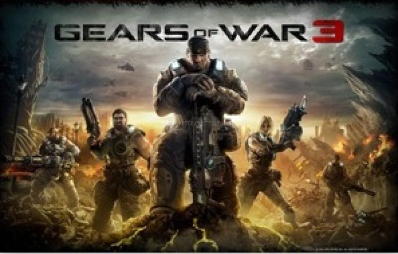 Pantallazo Gear of War 3 Theme
