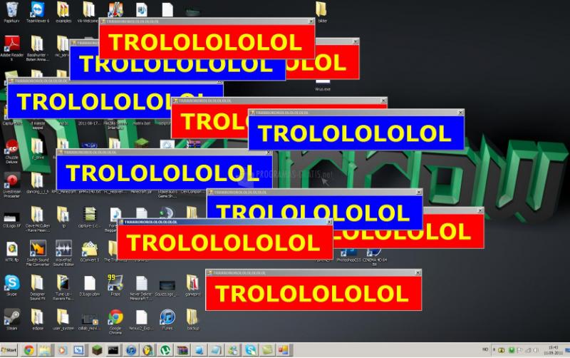 Pantallazo The Troll Virus