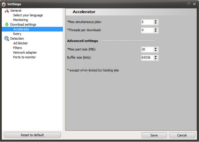 Pantallazo VSO Downloader