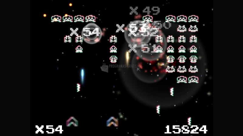 Pantallazo Hyperspace Invaders Zero