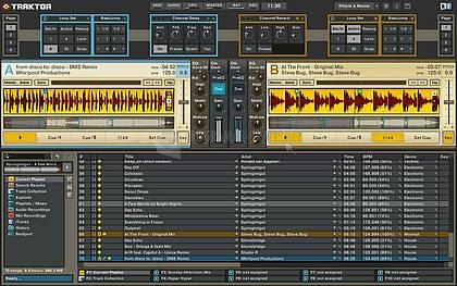 Pantallazo Traktor DJ Studio