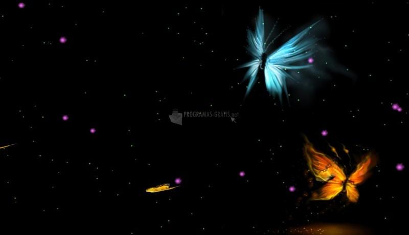 Pantallazo Fantastic Butterfly Animated Wallpaper