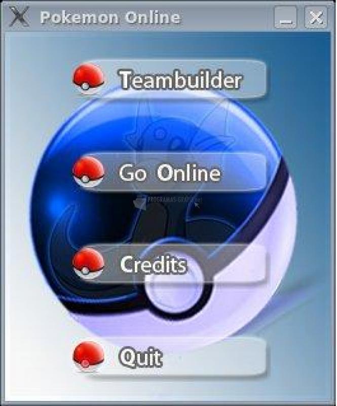 Pantallazo Pokemon Online
