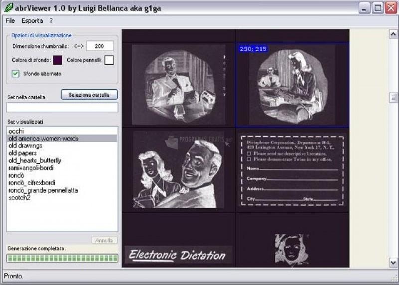 Pantallazo abrViewer
