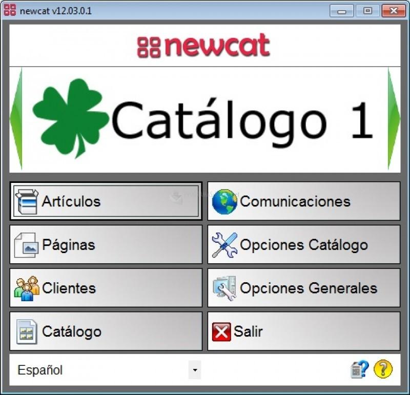 Pantallazo NewCat