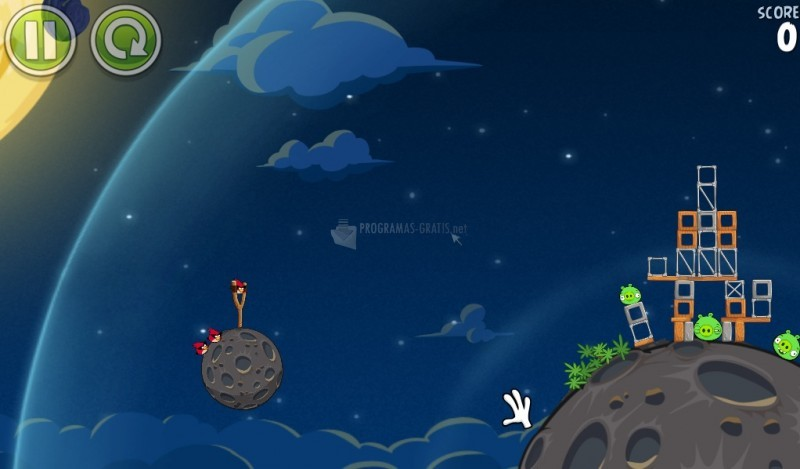Pantallazo Angry Birds Space