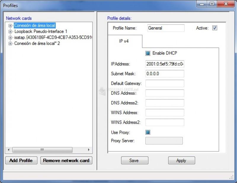 Pantallazo Ultimate IP Charger