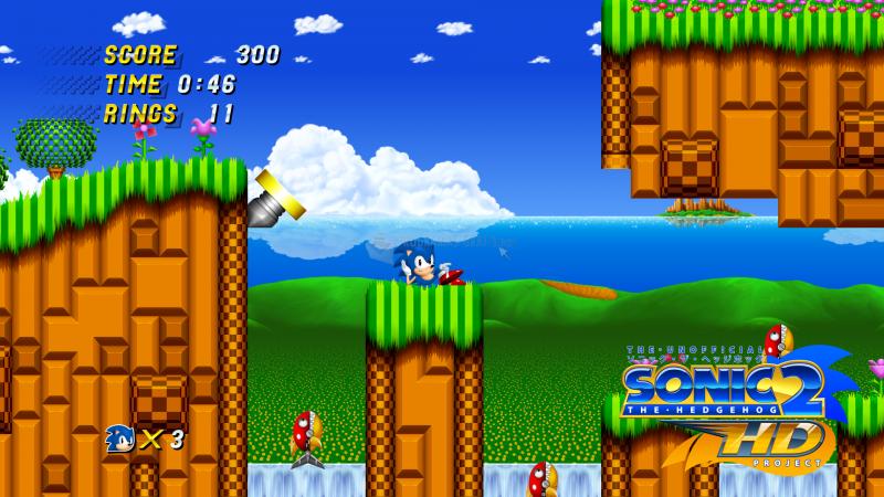 Pantallazo Sonic 2 HD