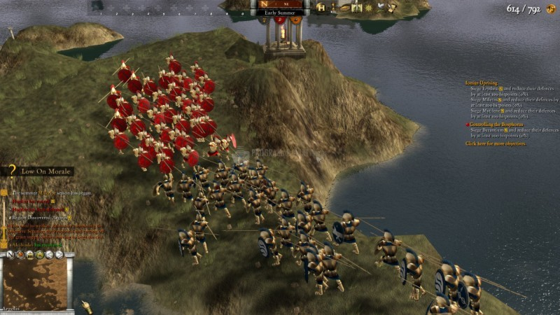 Pantallazo Hegemony Gold: Wars of Ancient Greece