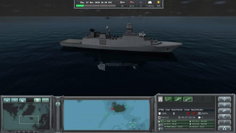 Pantallazo Naval War: Arctic Circle
