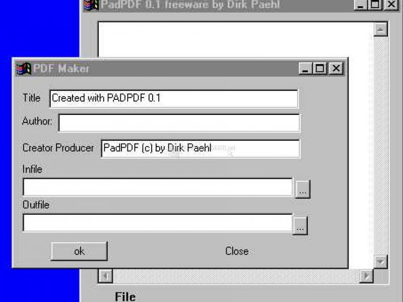 Pantallazo Pad PDF