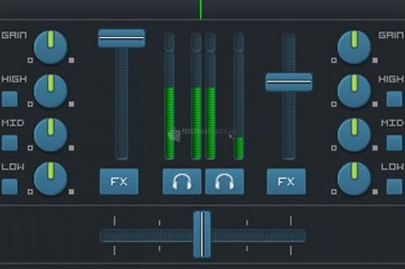 Pantallazo DJ Mixer Studio