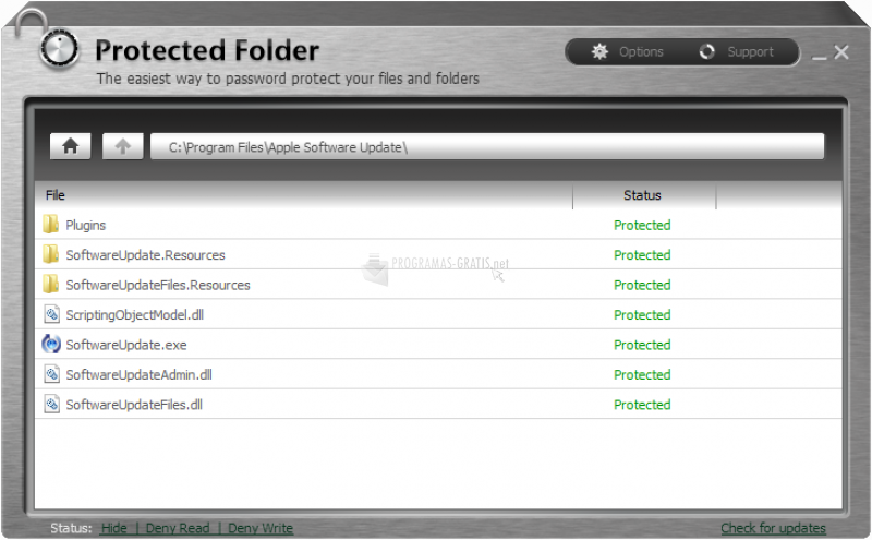 Resultado de imagen para Iobit Protected Folder