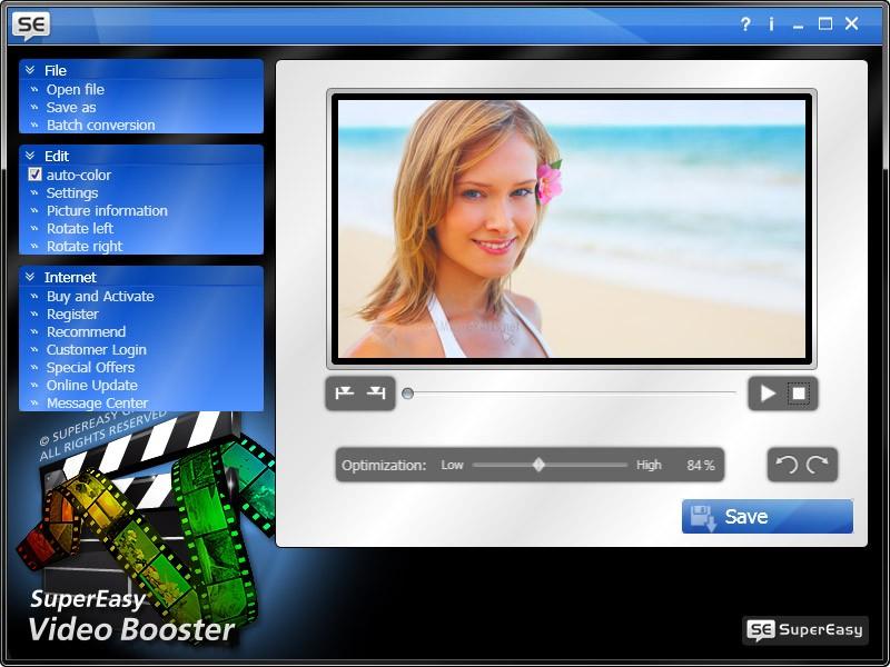 Pantallazo SuperEasy Video Booster