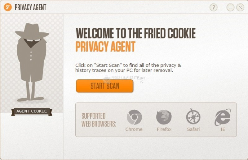 Pantallazo Privacy Agent