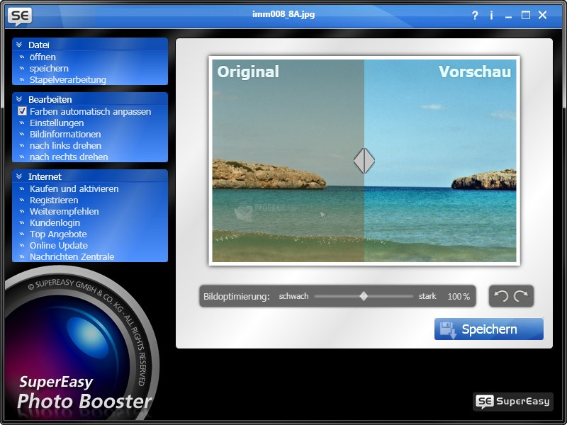 Pantallazo SuperEasy Photo Booster