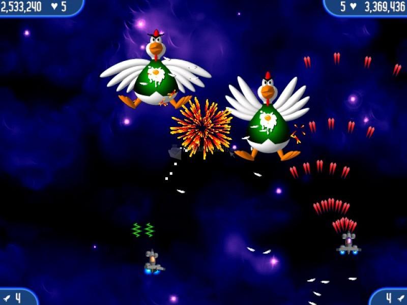 Pantallazo Chicken Invaders 2