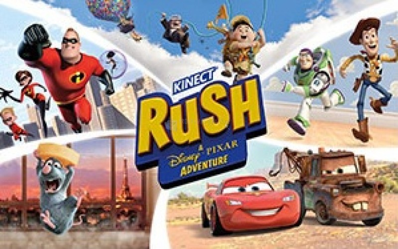 Pantallazo Kinect Rush Theme