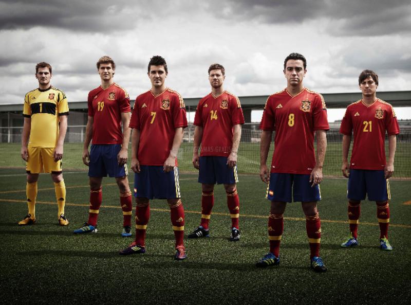 Pantallazo España Eurocopa 2012
