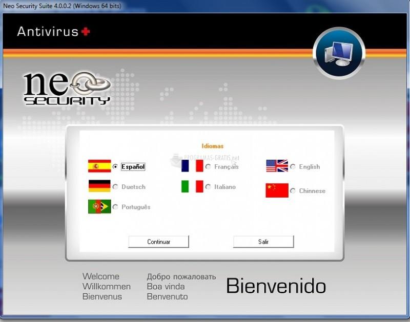 Pantallazo Neo Internet Suite