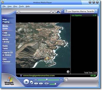 Pantallazo Windows Media Player 98/Me/2000