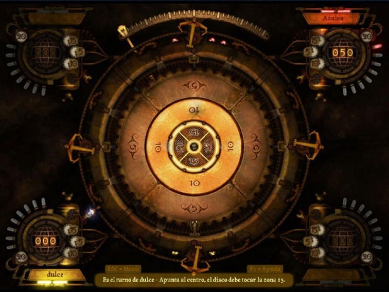 Pantallazo Clockwork Crokinole