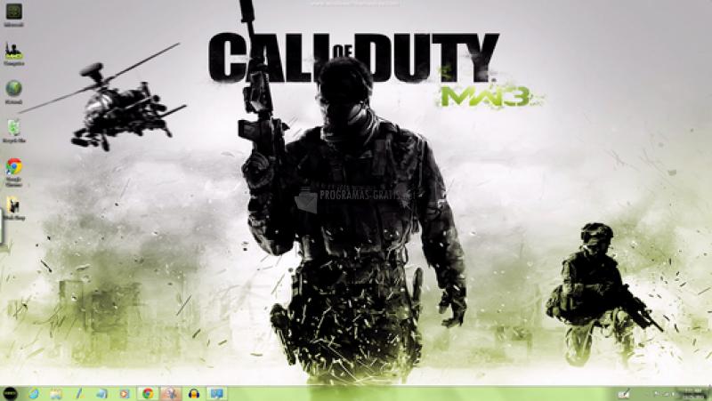 Pantallazo Modern Warfare 3 Theme