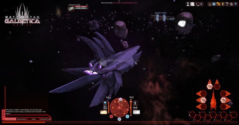 Pantallazo Battlestar Galactica Online