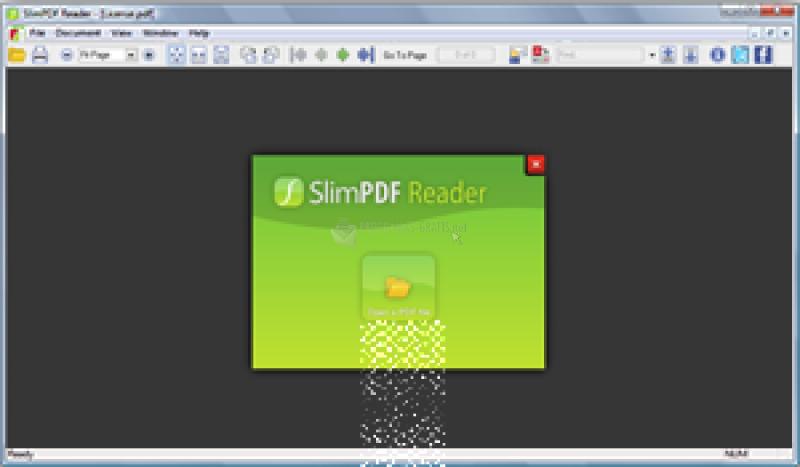 Pantallazo SlimPDF Reader