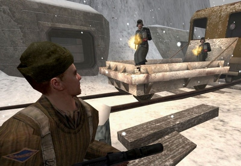 Pantallazo Wolfenstein - Enemy Territory